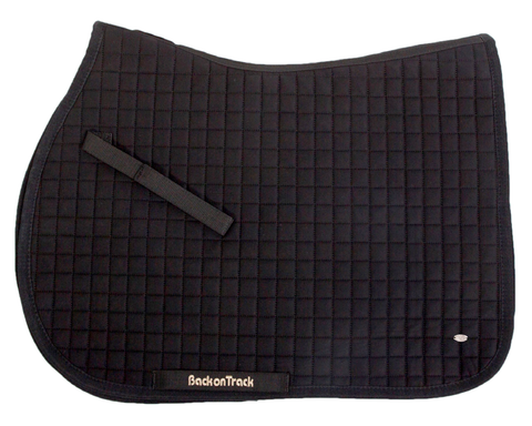Black Saddle Pad (No.1) - Jumping