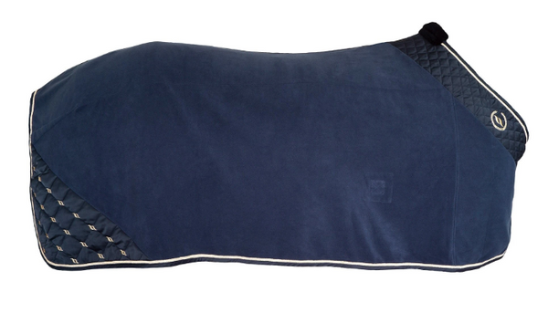 Night Collection Fleece Rug - Navy