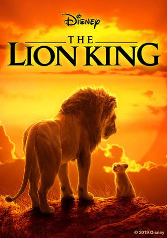 Lion King 2019 Live Action HDX VUDU or HD MoviesAnywhere