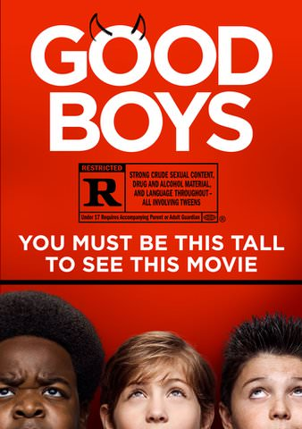 Good Boys HDX VUDU or HD MoviesAnywhere