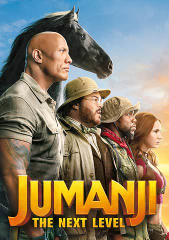 Jumanji: The Next Level HDX VUDU or HD MoviesAnywhere