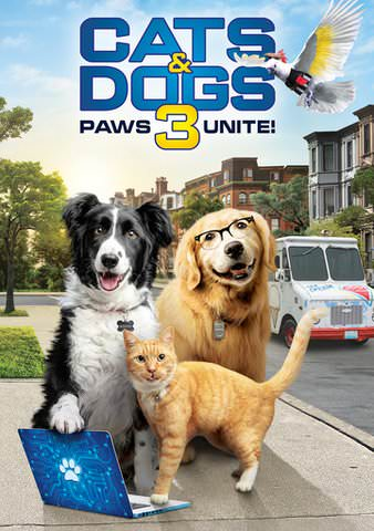 Cats and Dogs 3: Paws Unite HDX VUDU or HD MoviesAnywhere