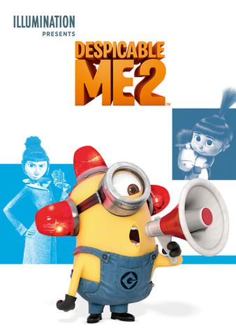 Despicable Me 2 HDX VUDU or HD MoviesAnywhere