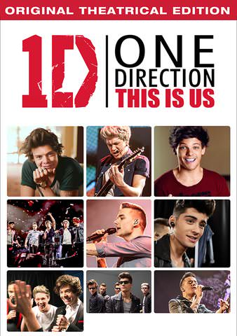 One Direction: This is Us SD VUDU or SD MoviesAnywhere