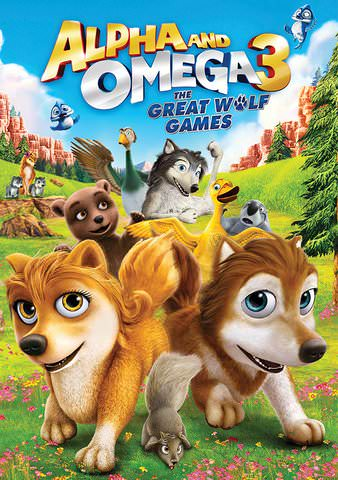 Alpha and Omega 3: The Great Wolf Games HDX VUDU