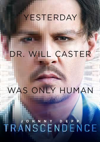 Transcendence SD VUDU or HD MoviesAnywhere