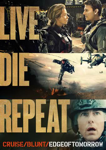 Live Die Repeat: Edge of Tomorrow HDX VUDU or HD MoviesAnywhere