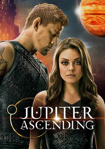 Jupiter Ascending SD VUDU or HD MoviesAnywhere