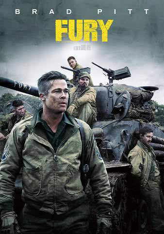 Fury SD VUDU or SD MoviesAnywhere