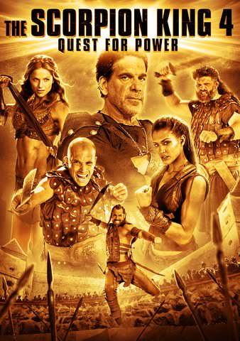 The Scorpion King 4: Quest for Power HDX VUDU or HD MoviesAnywhere