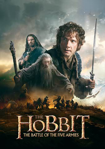 The Hobbit: The Battle of the Five Armies SD VUDU or HD MoviesAnywhere
