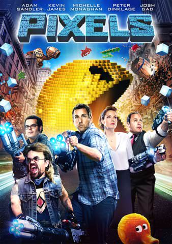 Pixels SD VUDU or SD MoviesAnywhere