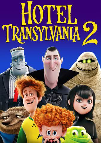 Hotel Transylvania 2 SD VUDU or SD MoviesAnywhere