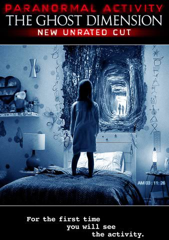 Paranormal Activity: The Ghost Dimension (Unrated) HDX VUDU