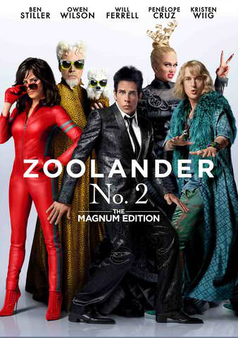Zoolander No. 2: The Magnum Edition HDX VUDU
