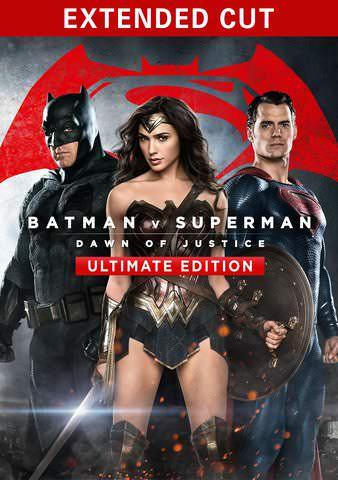 Batman v Superman: Dawn of Justice - The Ultimate Edition HDX VUDU or HD MoviesAnywhere