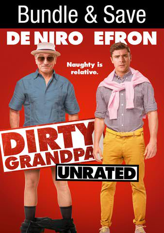 Dirty Grandpa (Unrated) HDX VUDU