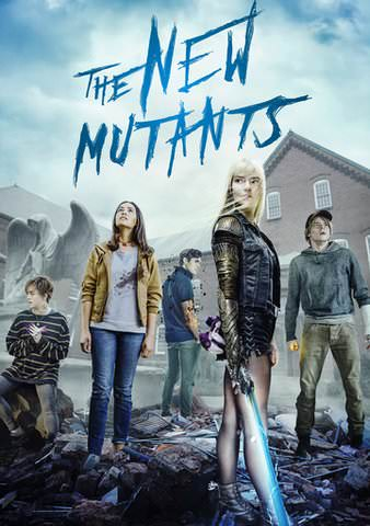 The New Mutants 4K UHD VUDU or 4K MoviesAnywhere