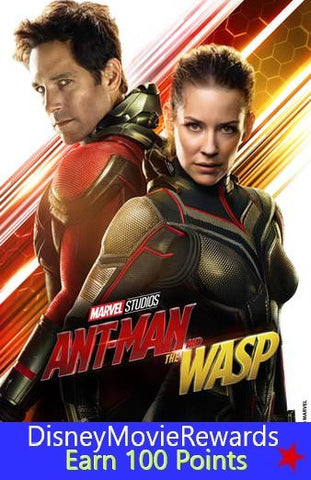 Ant-Man and the Wasp Disney Reward Points ONLY