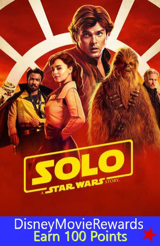 Solo: A Star Wars Story Disney Reward Points ONLY