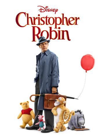 Christopher Robin HDX VUDU or HD MoviesAnywhere
