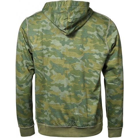 North 56°4 / Replika Jeans (Big & Tall) REPLIKA JEANS Camouflage hoodie full zip Sweatshirt 0930 Printed