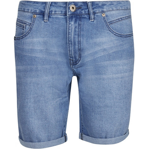 North 56°4 / Replika Jeans (Big & Tall) REPLIKA JEANS Denim shorts Shorts 0599 Light Blue Used Wash