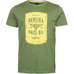 North 56°4 / Replika Jeans (Big & Tall) REPLIKA JEANS Printed t-shirt T-shirt 0660 Olive Green