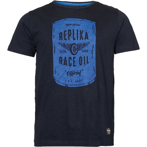 North 56°4 / Replika Jeans (Big & Tall) REPLIKA JEANS Printed t-shirt TALL T-shirt 0099 Black