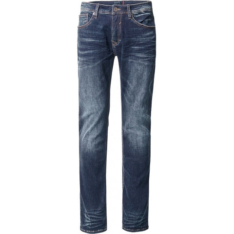 North 56°4 / Replika Jeans (Regular) North 56°4 5 pocket jeans Bruce Jeans 0597 Blue Used Wash