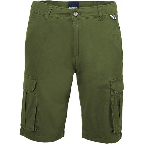 North 56°4 / Replika Jeans (Big & Tall) North 56°4 Cargo shorts Shorts 0660 Olive Green