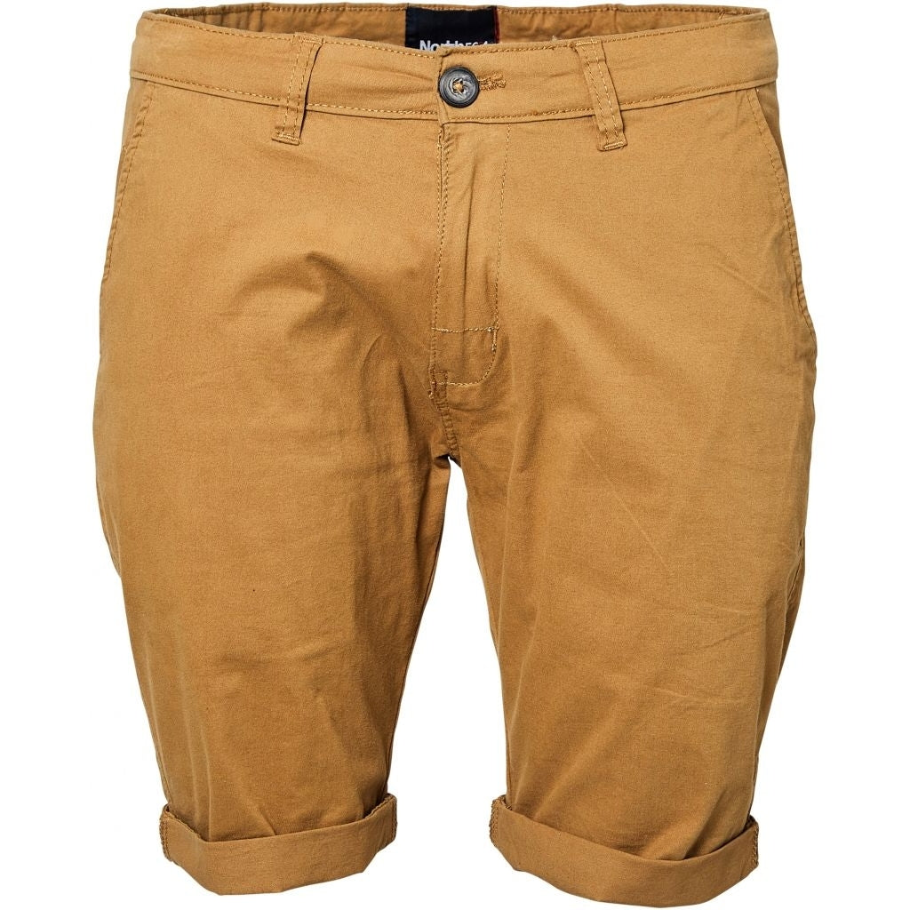 North 56°4 / Replika Jeans (Big & Tall) North 56°4 Chino shorts Shorts 0760 Brass