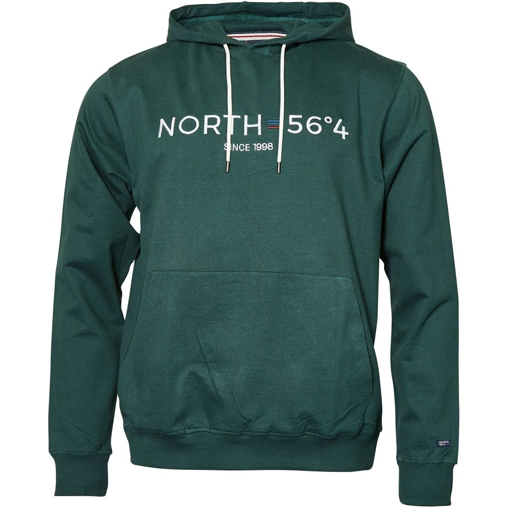 North 56°4 / Replika Jeans (Big & Tall) North 56°4 Hooded sweat TALL Sweatshirt 0680 Dark Green