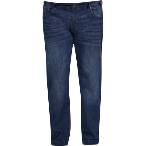 North 56°4 / Replika Jeans (Big & Tall) North 56°4 Jeans Mick Jeans 0597 Blue Used Wash