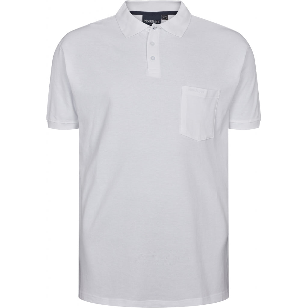 North 56°4 / Replika Jeans (Big & Tall) North 56°4 Polo TALL T-shirt 0000 White