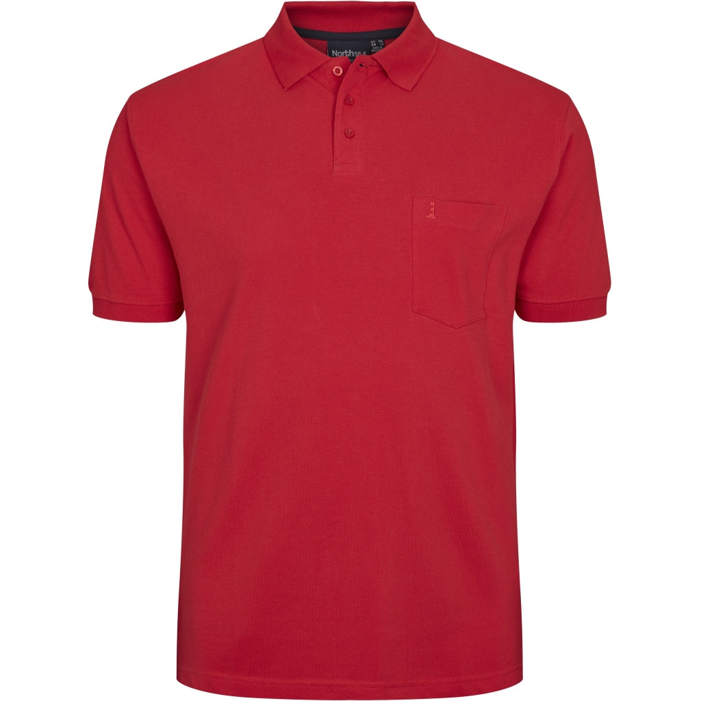 North 56°4 / Replika Jeans (Big & Tall) North 56°4 Polo TALL T-shirt 0300 Red