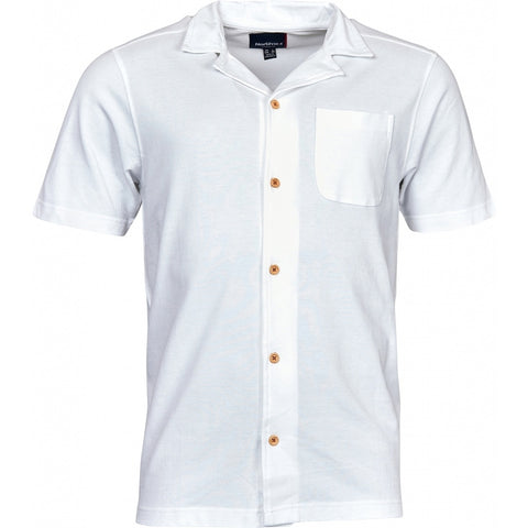 North 56°4 / Replika Jeans (Big & Tall) North 56°4 Polo shirt in light pique T-shirt 0000 White