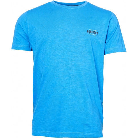 North 56°4 / Replika Jeans (Regular) North 56°4  Printed t-shirt T-shirt 0540 Mid Blue