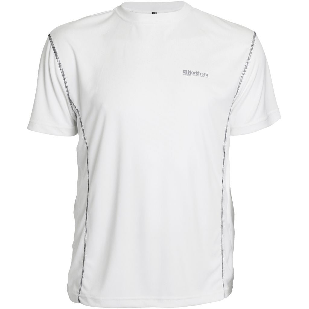 North 56°4 / Replika Jeans (Big & Tall) North 56°4 SPORT Tech t-shirt TALL T-shirt 0000 White