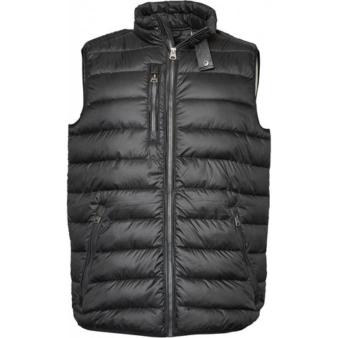North 56°4 / Replika Jeans (Big & Tall) North 56°4 Vest TALL Vest 0099 Black