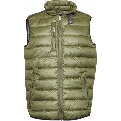 North 56°4 / Replika Jeans (Big & Tall) North 56°4 Vest TALL Vest 0680 Dark Green