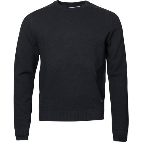 North 56°4 / Replika Jeans (Regular) North 56°4 crew neck knit Knit 0099 Black