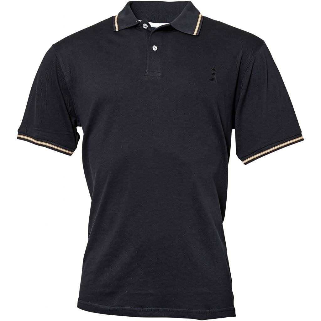 North 56°4 / Replika Jeans (Regular) North 56°4 Polo S/S T-shirt 0099 Black
