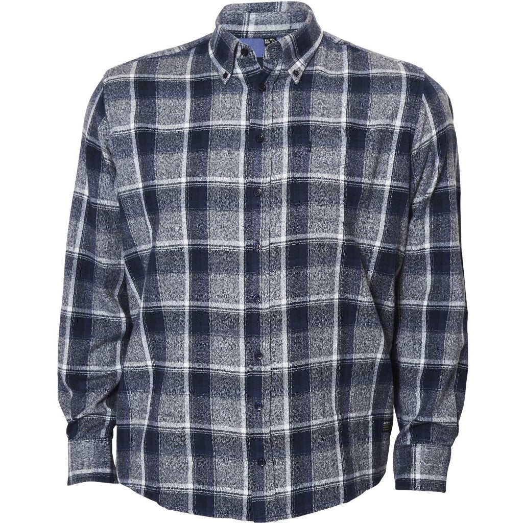 North 56°4 / Replika Jeans (Big & Tall) North 56°4 Checked shirt L/S S1 TALL Shirt LS 0920 Checked