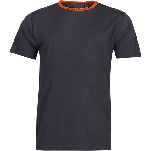 North 56°4 / Replika Jeans (Regular) North 56°4 T-shirt w/contrast T-shirt 0099 Black