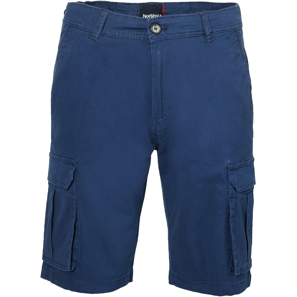 North 56°4 / Replika Jeans (Regular) North 56°4 Cargo shorts w/stretch Shorts 0580 Navy Blue