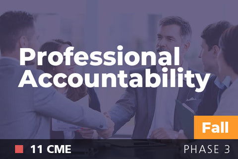 2018 Fall Professional Accountability