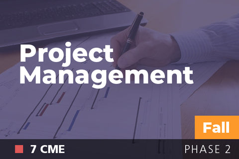 2018 Fall Project Management