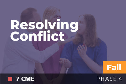 2018 Fall Resolving Conflict