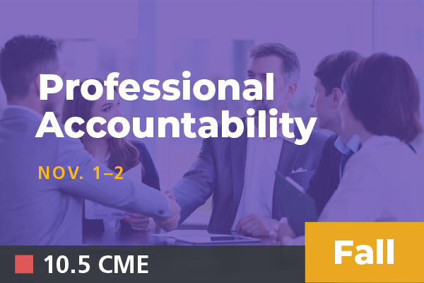 2019 Fall Professional Accountability